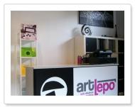 ARTLEPO - Diseinua eta inprimatzea