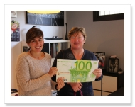 SORTEO DE LOS 8 VALES DE 100 EUROS