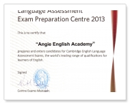 ANGIE ENGLISH ACADEMY