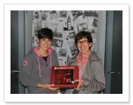 Ganadora de la tablet: Virginia Urrutia (Doneztebe)
