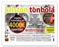 """Kartela """"KRISTON TONBOLA"""""""