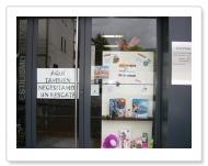Mailposta Papertegia-ren eskaparatea Centro de estilismo e imagen Amaya-n